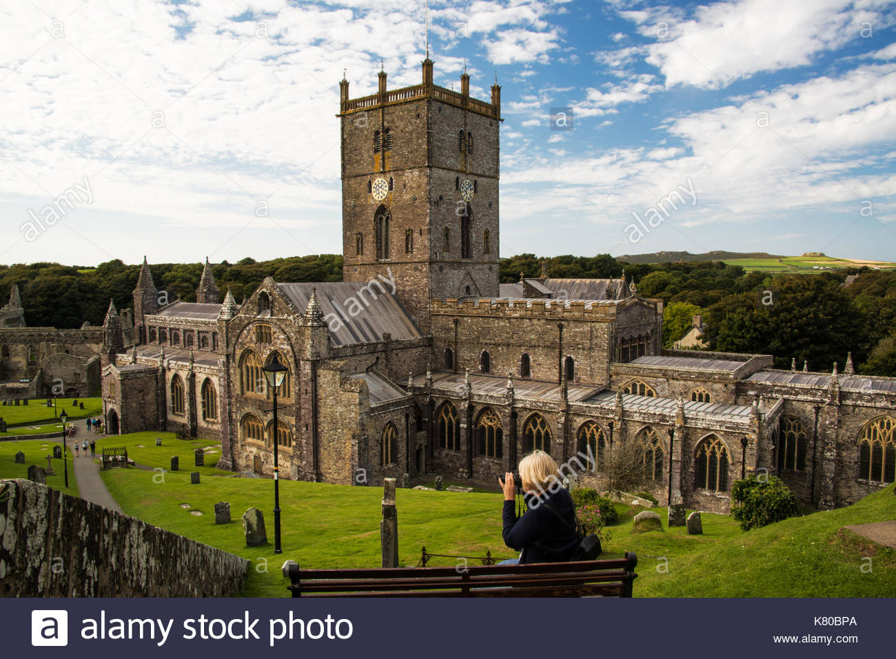 Oriel y Parc St Davids (Tyddewi), Saint Davids Stock Photos & Saint Davids Stock Images - Alamy