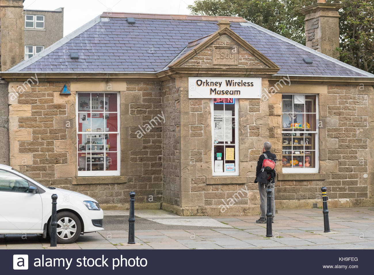 Orkney Wireless Museum Orkney and Shetland Islands, Orkney Museum Stock Photos & Orkney Museum Stock Images - Alamy