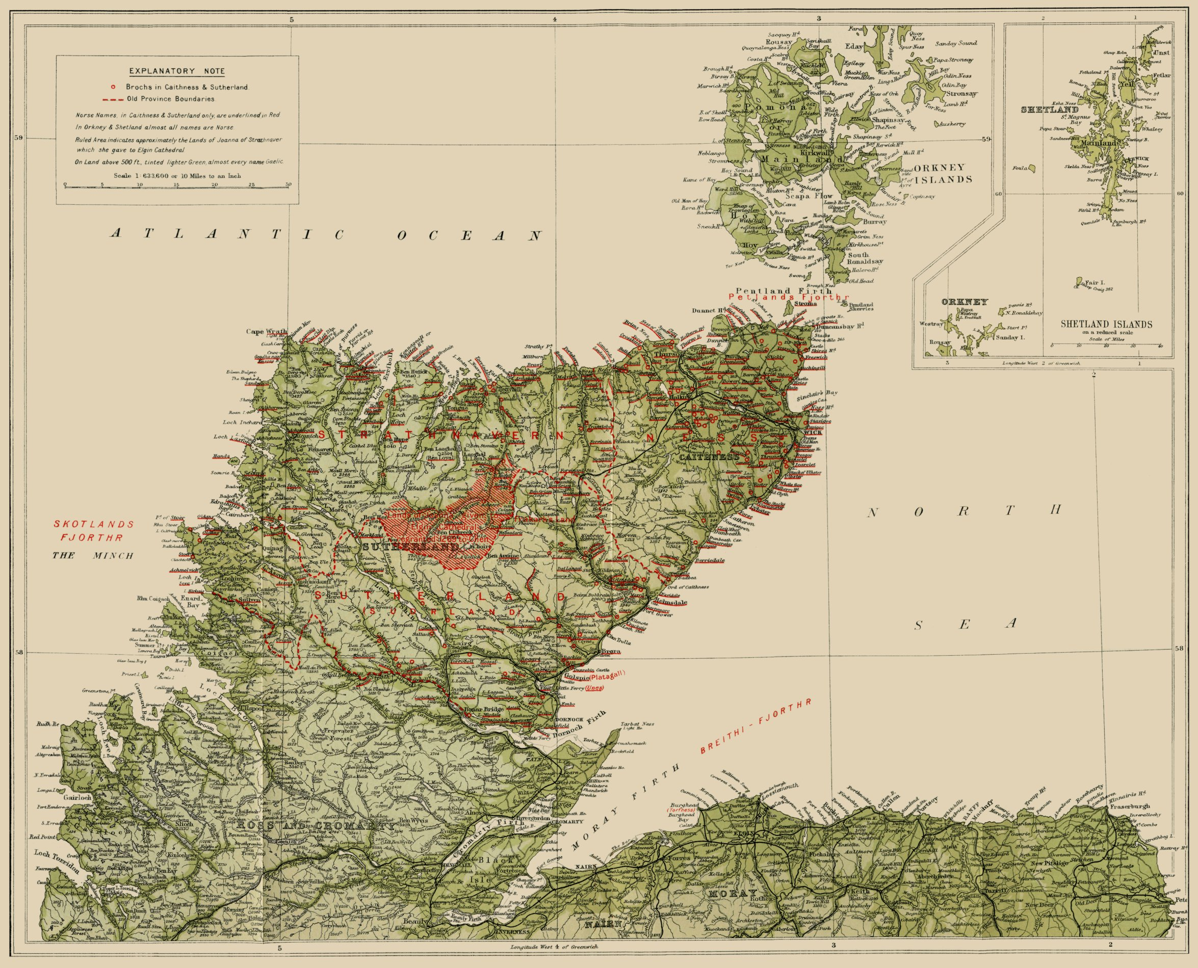 Orkneyinga Saga Centre Orkney and Shetland Islands, The Project Gutenberg ebook of Sutherland and Caithness in Saga ...