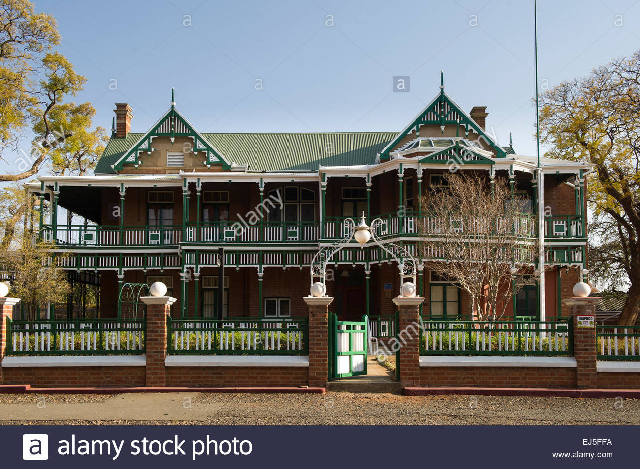 Orpen Dam Kruger National Park, Dunluce, Victorian house with wooden facade, Kimberley, South ...