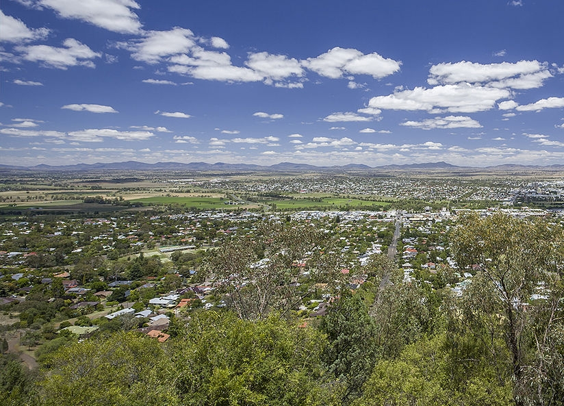 Oxley Scenic Lookout Tamworth, Northern NSW loop: New England and the coast   Cycle Traveller
