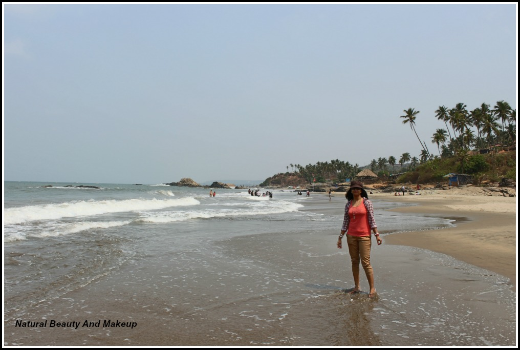 Ozran Beach Vagator & Chapora, Natural Beauty And Makeup : A visit to North Goa - Day 2