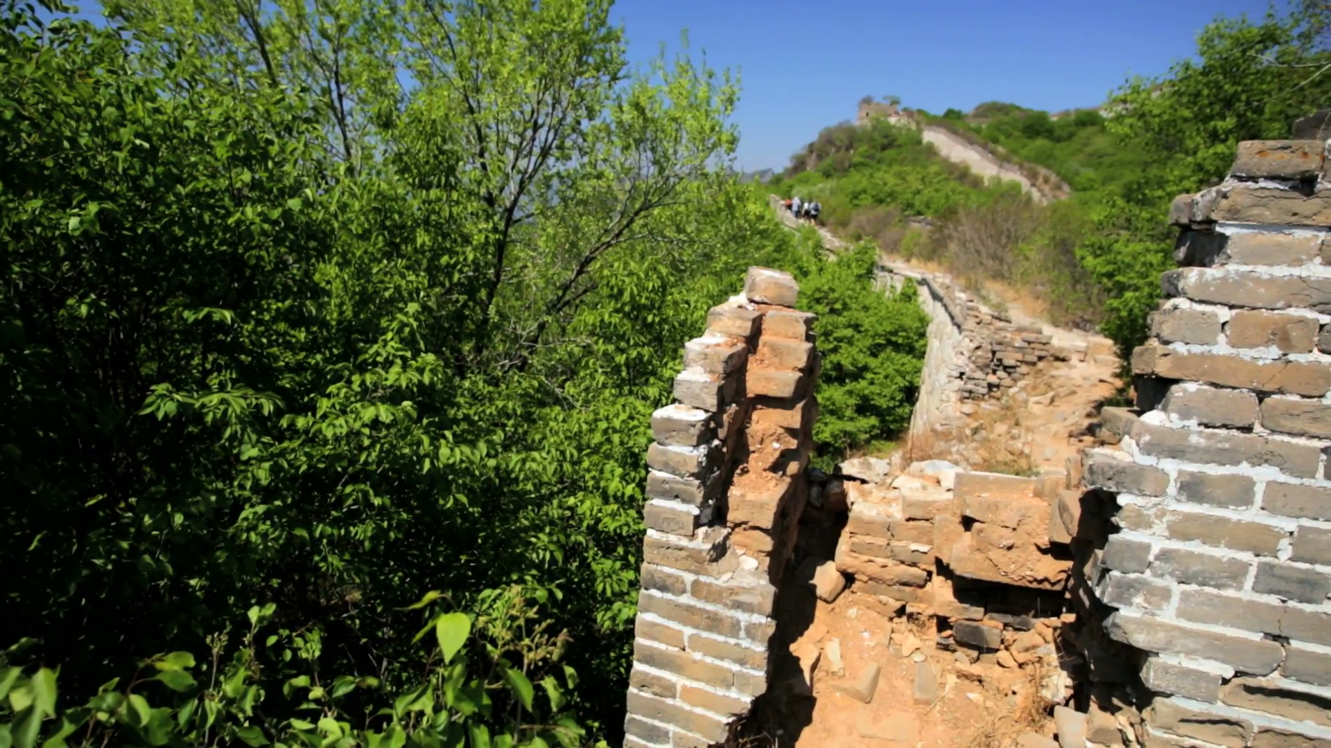 Palace of Celestial Favour Běijīng, The Great Wall of China Watchtower disrepair people Beijing Stock ...