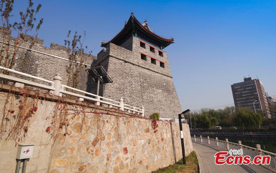 Palace of Celestial Favour Běijīng, Free library transformed from historic watchtower in Beijing(1/5)