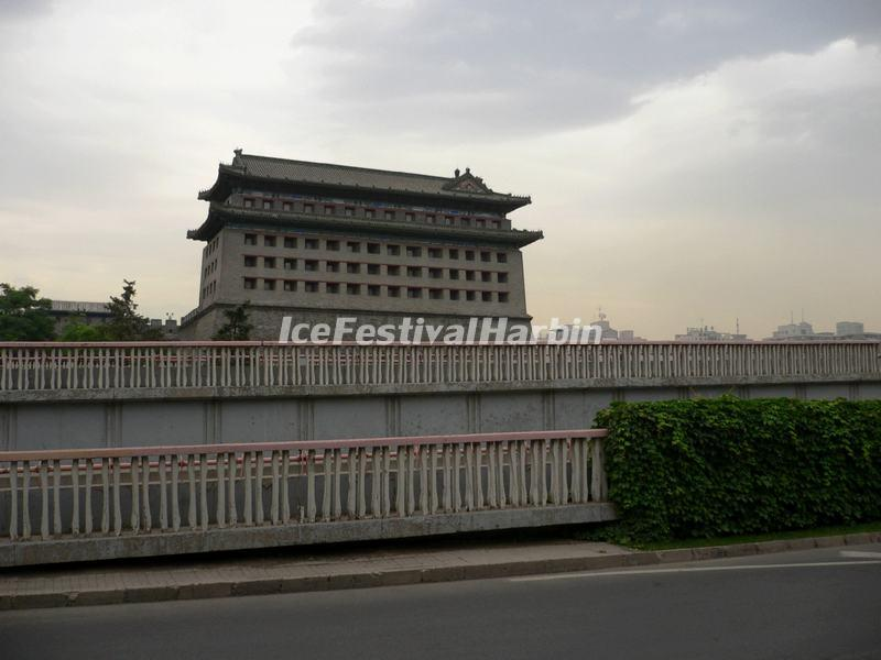 Palace of Celestial Favour Běijīng, Dongbianmen Watch Tower Beijing - Beijing Dongbianmen (Eastern ...