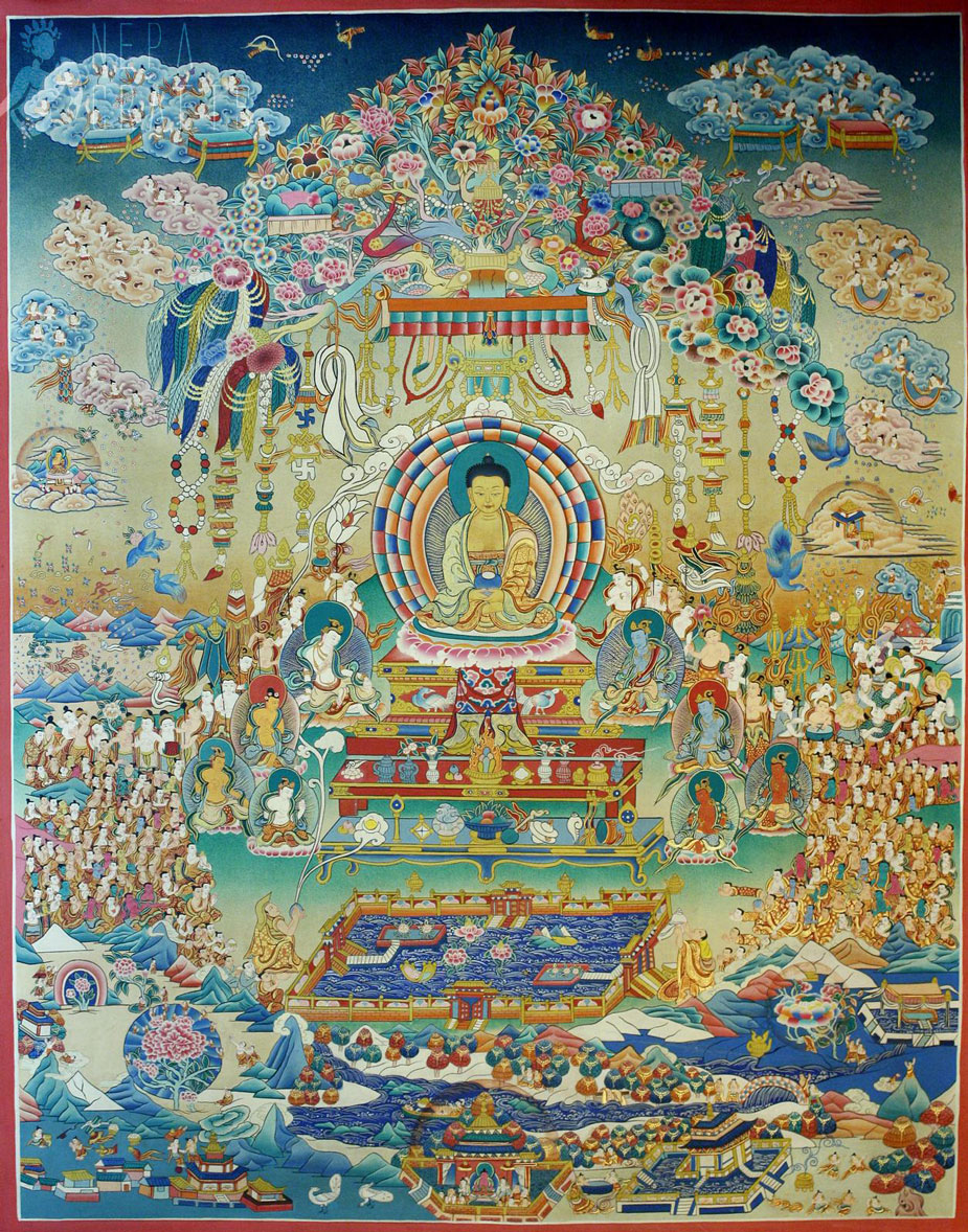 Palace of Eternal Harmony Běijīng, In traditional Mahayana Buddhist countries, there are a number of ...