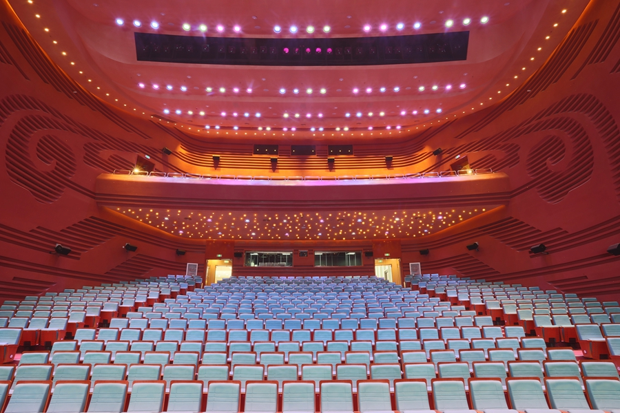 Palace of Great Brilliance Běijīng, The Future Theatre of The China Soong Ching Ling Science & Culture ...