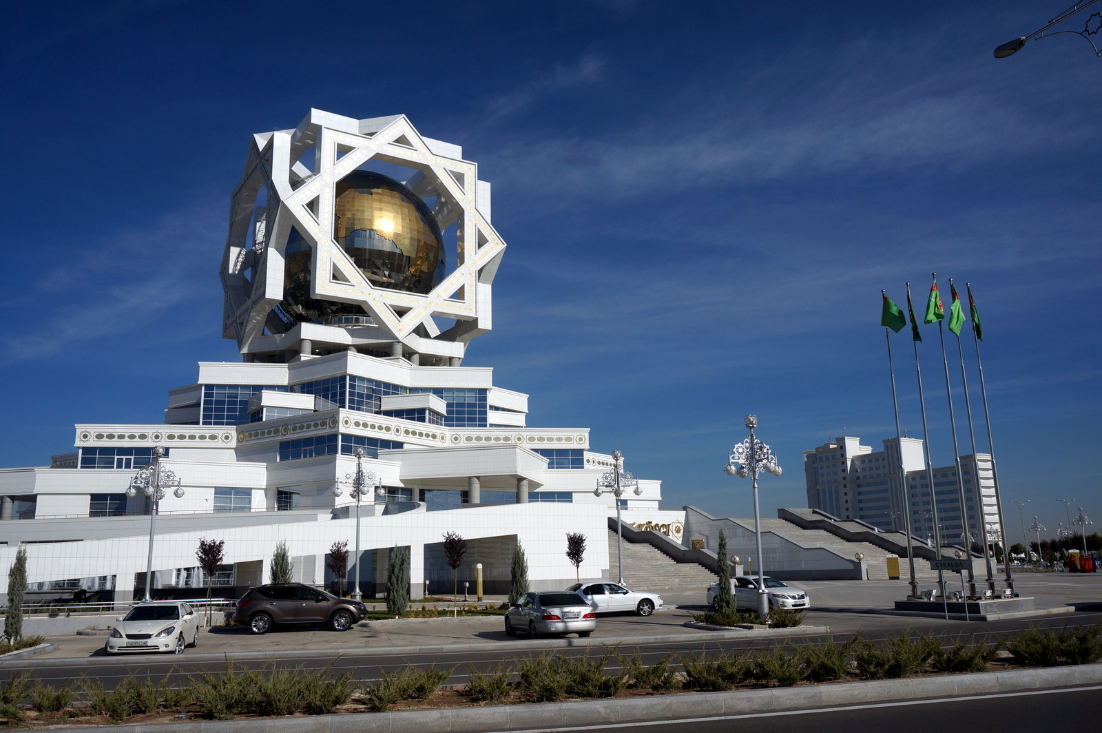 Palace of Knowledge Ashgabat, November 11th: Turkmenistan is strange . . . | ninety percent ...