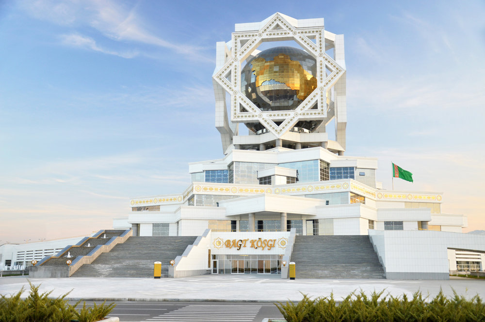 Palace of Knowledge Ashgabat, Ashgabat - Peculiar White Marble Capital of Turkmenistan ...