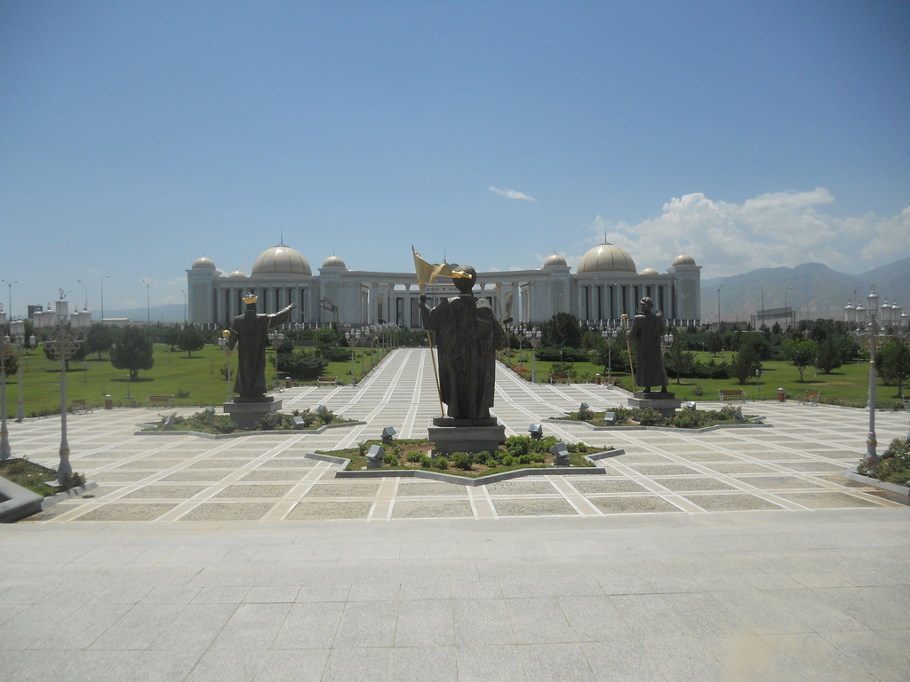 Palace of Knowledge Ashgabat, Berzengi & Independence Park