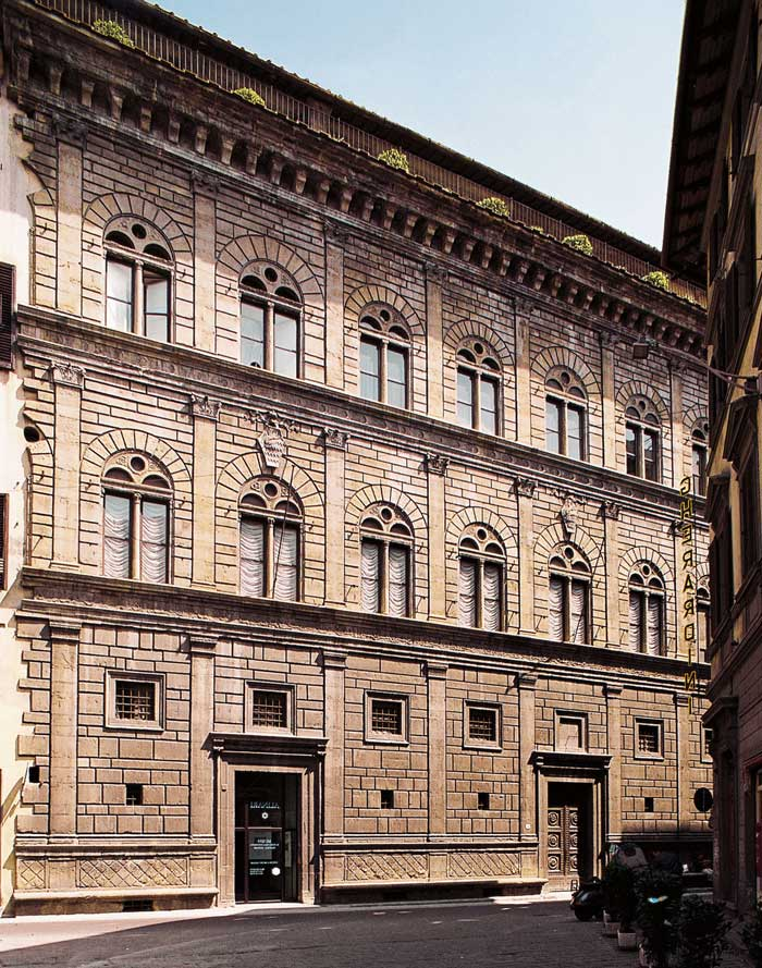 Palazzo Rucellai Florence, Tuscany Travel Guide | Art in Florence | Palazzo Rucellai | Podere ...