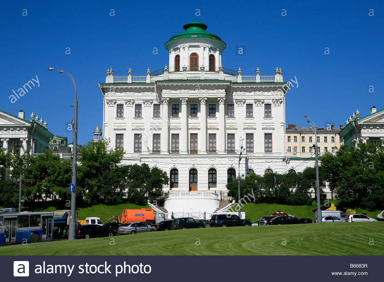 Pashkov House Moscow, Pashkov House (old building of the Russian State Library) in ...