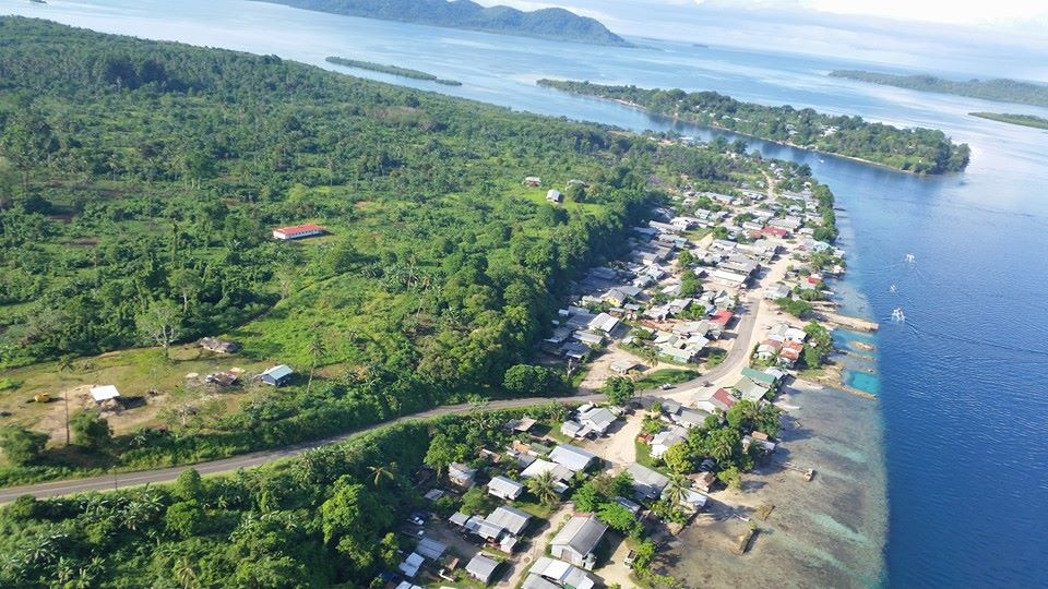 Sohano Island Buka, Panoramio - Photo of KOKOPAU Town seen along the Buka Passage in ...