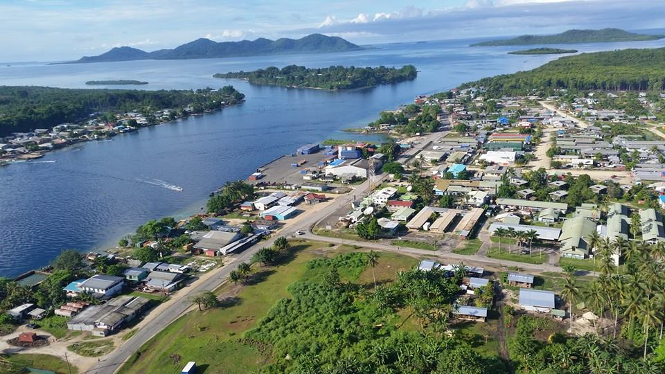 Sohano Island Buka, Panoramio - Photo of BUKA Town aerial view in Buka Passage with ...