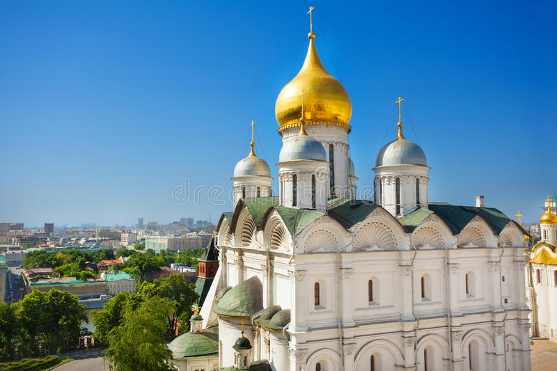 Patriarch's Palace Moscow, Cupola View Of Patriarch's Palace, Moscow Kremlin Stock Photo ...