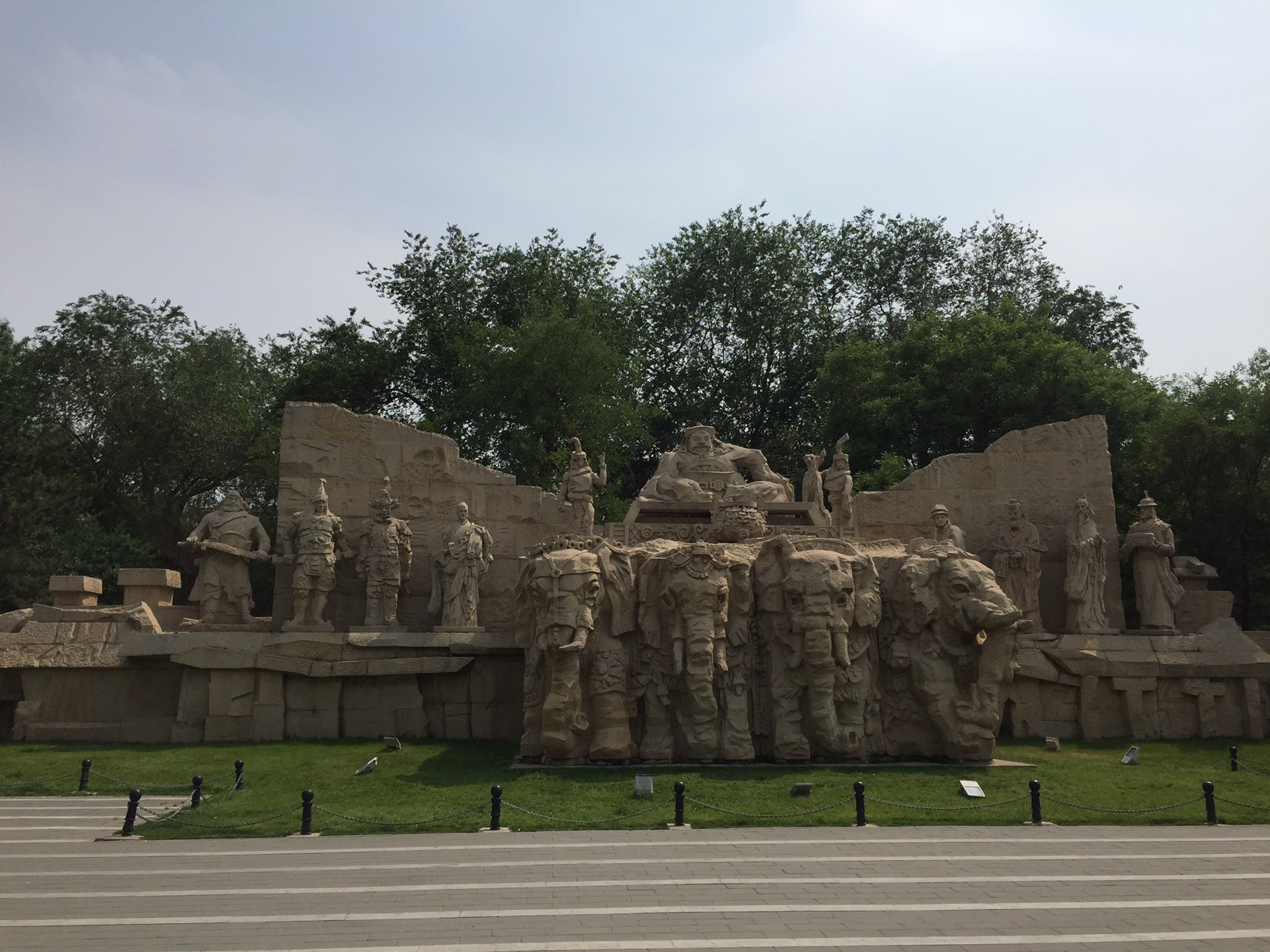 Pavilion of Spreading Righteousness Běijīng, GC761GY 大都建典- Yuan Dynasty City Wall Relics Park (Traditional ...