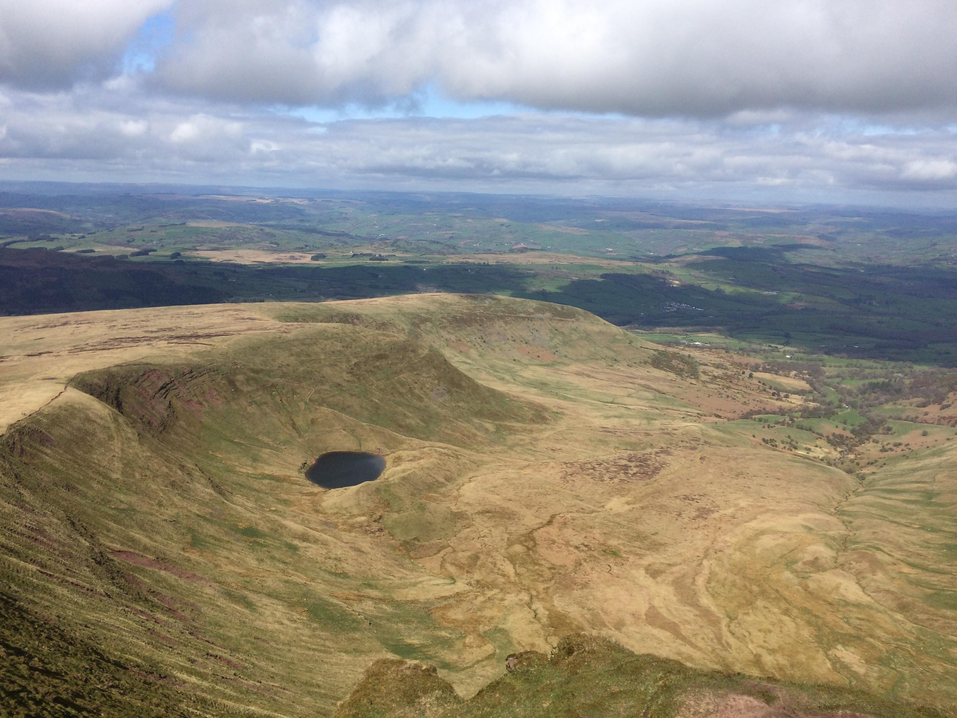 Pen-y-Fan Brecon Beacons National Park, Pen Y Fan mountain, Brecon Beacons national park, South Wales, UK ...