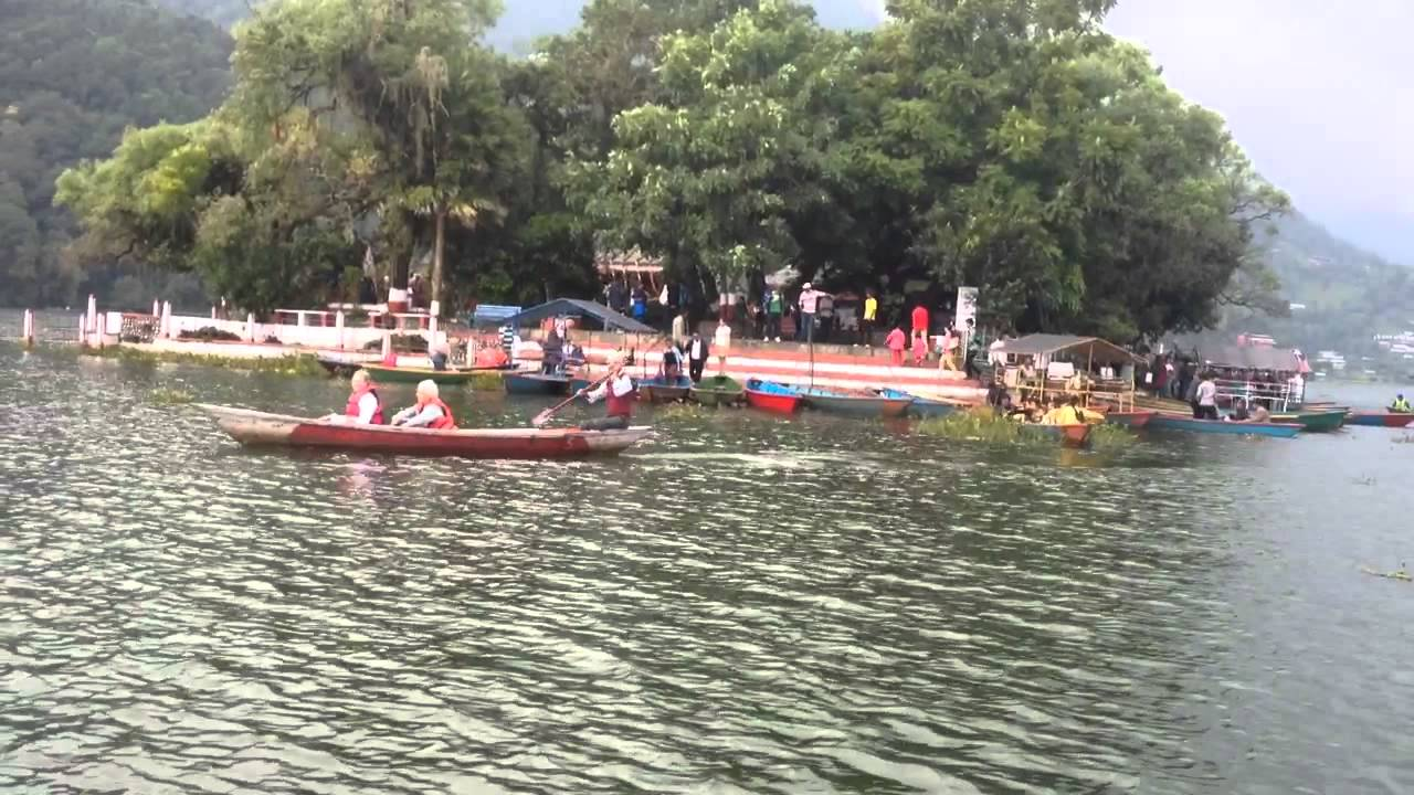 Phewa Tal Pokhara, Boting at pokhara fewa tal - YouTube