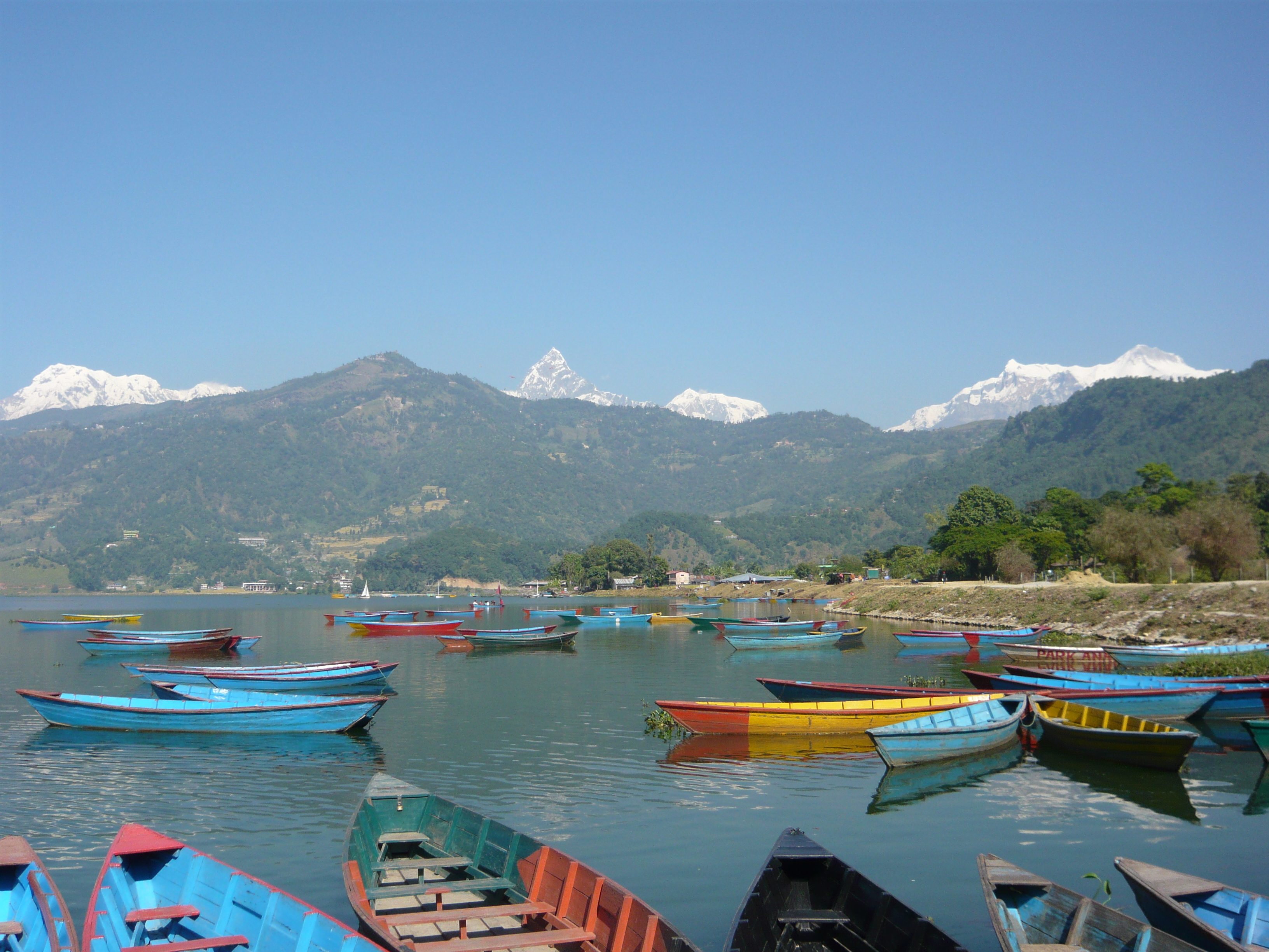 Phewa Tal Pokhara, The boats of Pokhara | the thirdeyeworld