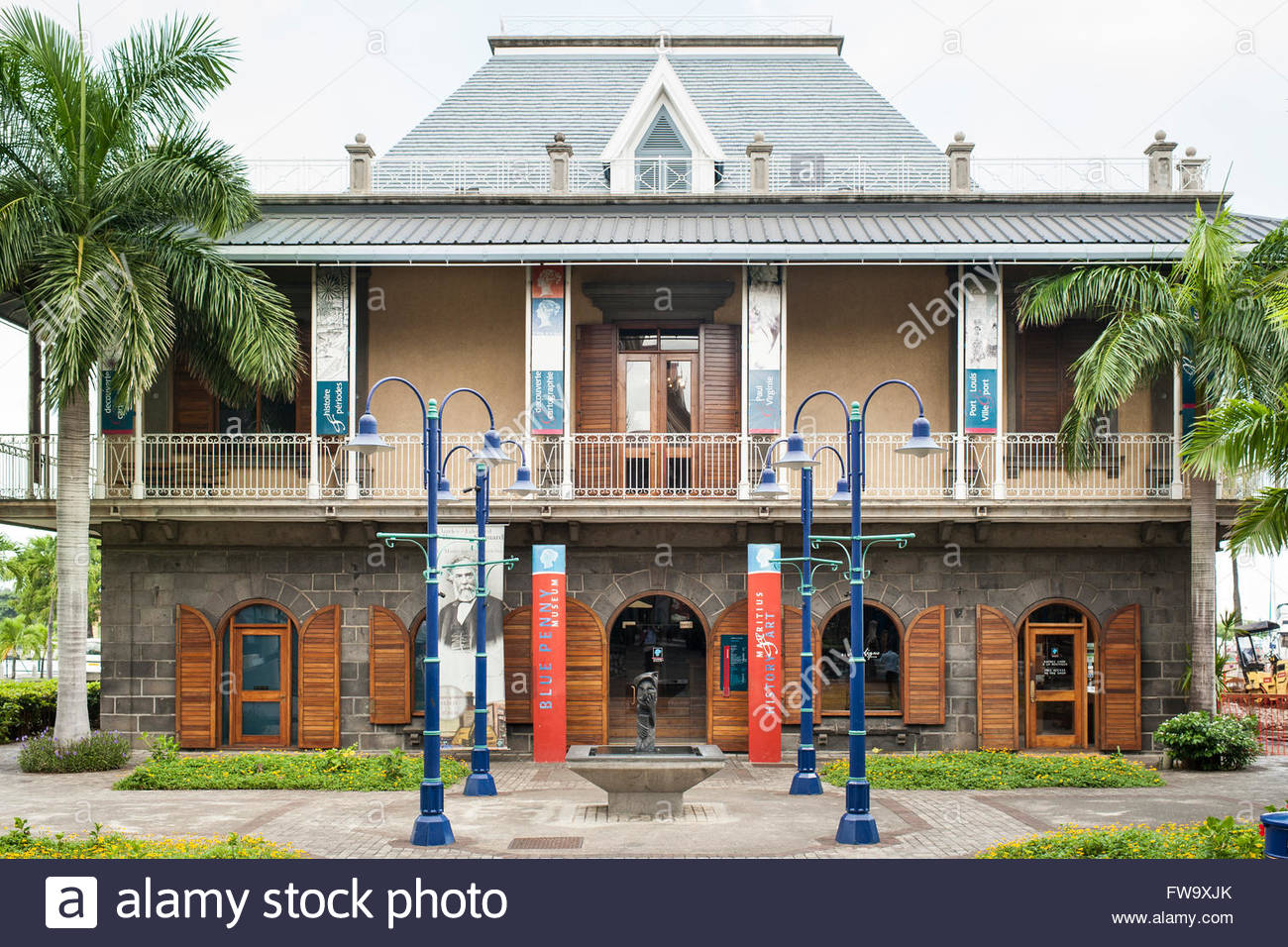 Blue Penny Museum Port Louis, The Blue Penny Museum in Port Louis, the capital of Mauritius ...