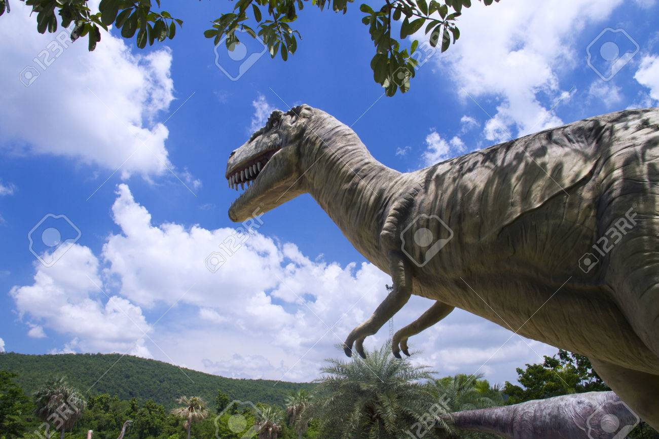 Dinosaur Excavation Sites Phu Wiang National Park, Phu Wiang Dinosaur Museum Wiang Kao District, Khon Kaen Province ...