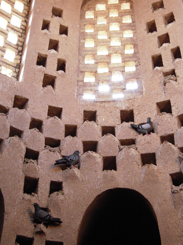 Pigeon Tower Meybod, Historical Iranian sites and people: Pigeon Towers