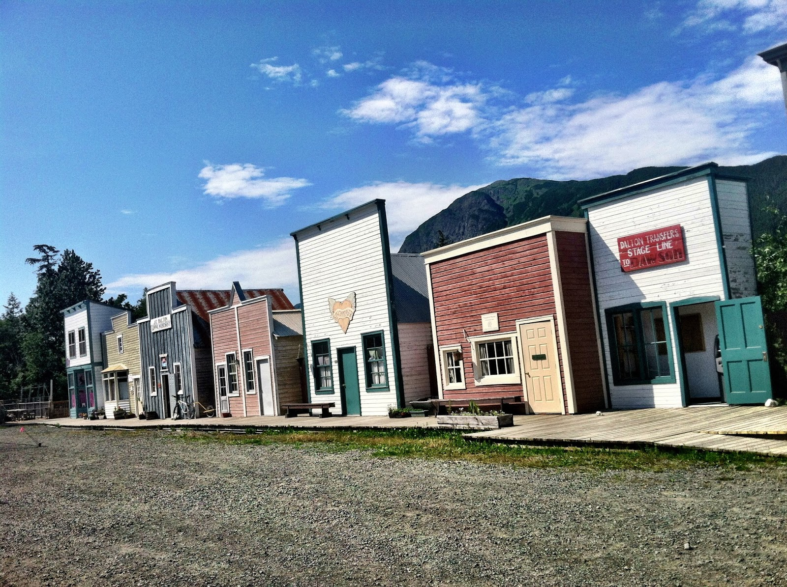 Pine Valley Museum Halfway, The Nomadic Newells: AK to CA Trip: Haines (Day 5 again...with pics)
