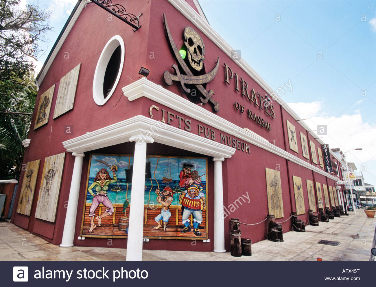 Pirates of Nassau Nassau, Pirates of Nassau Museum in Nassau Bahamas Stock Photo, Royalty ...