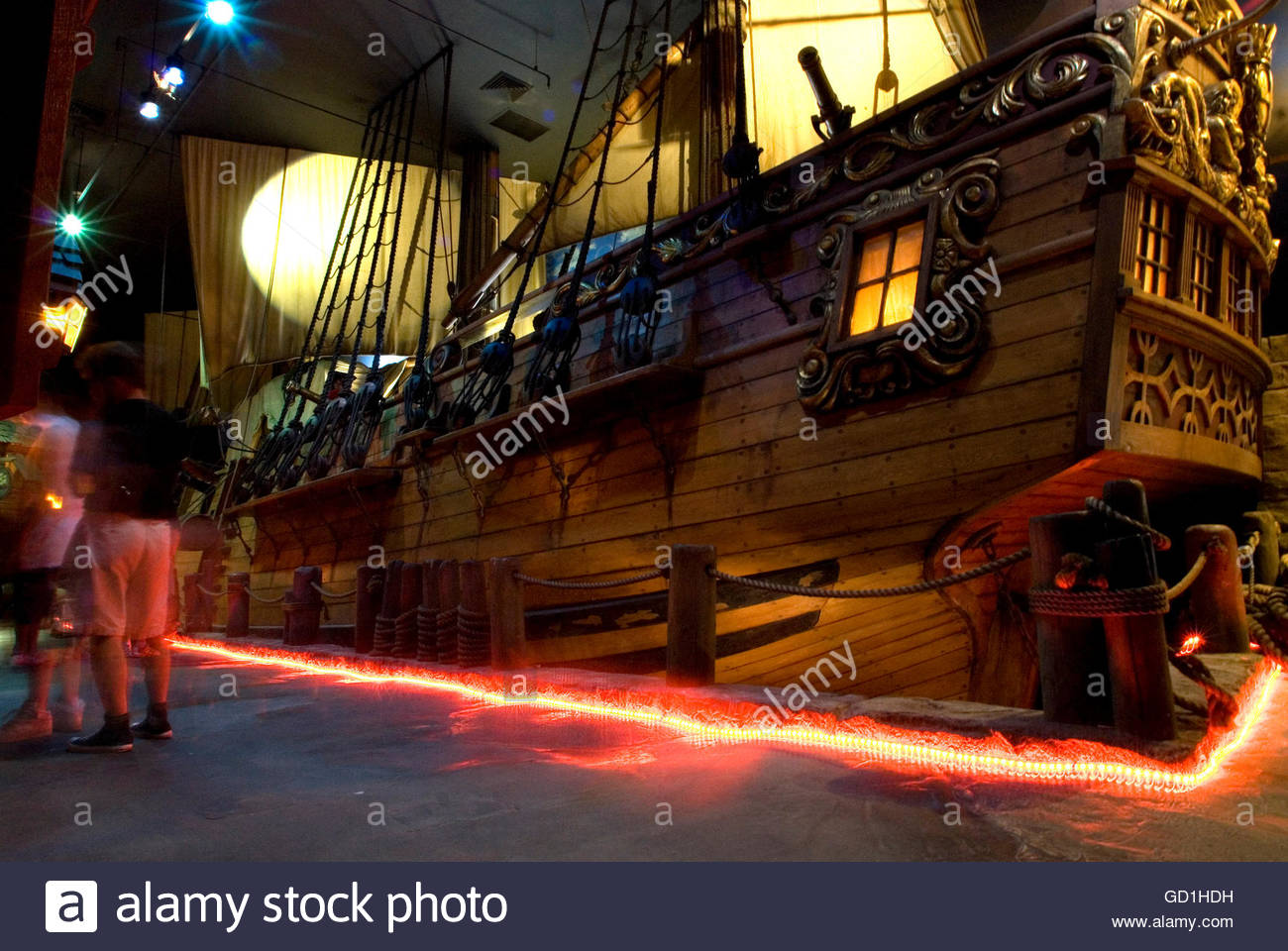 Pirates of Nassau Nassau, Revenge pirate galleon. Pirate Museum. Nassau, New Providence ...