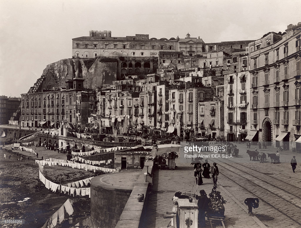 Pizzofalcone Naples, Via Santa Lucia in Naples Pictures | Getty Images