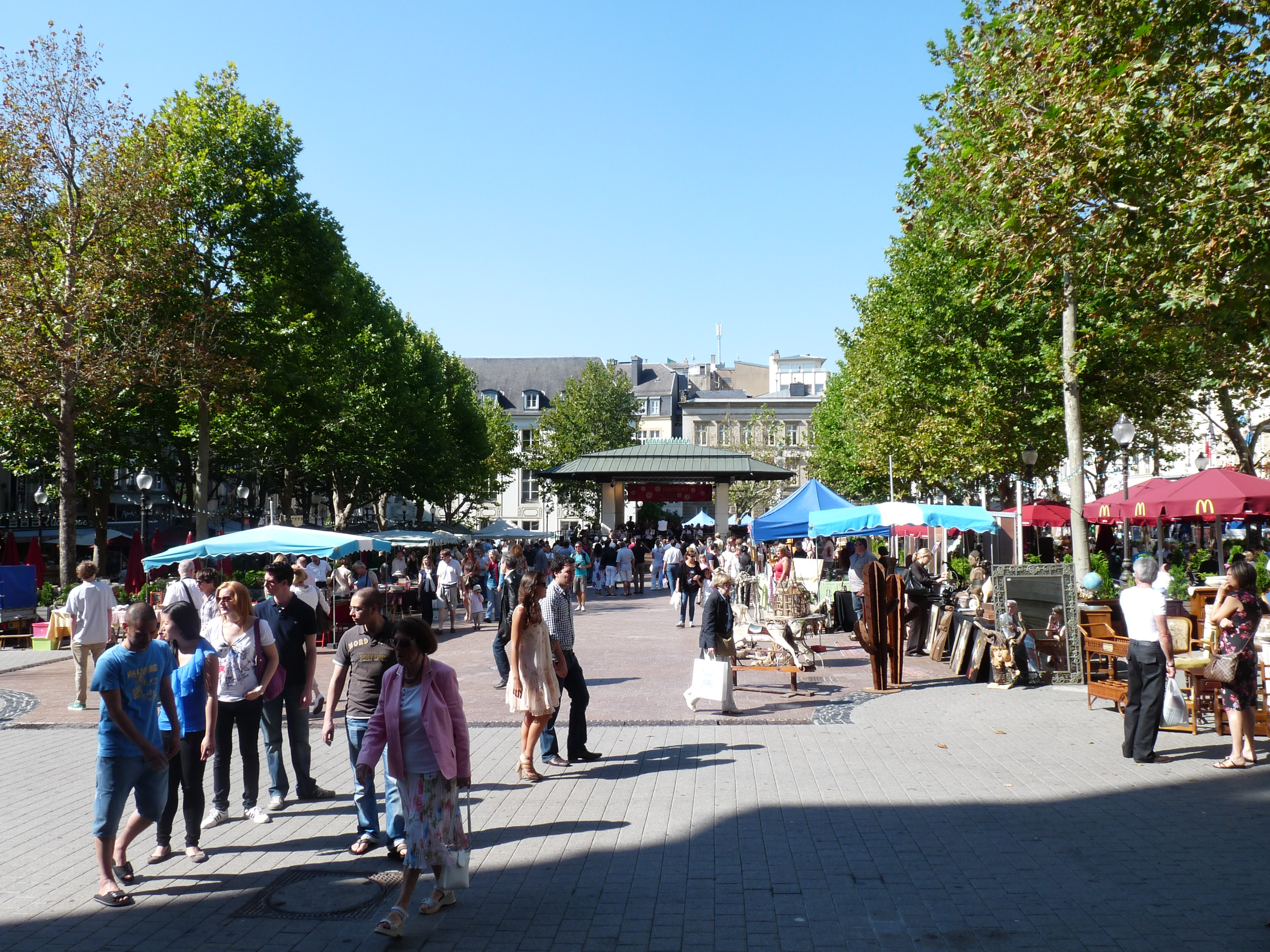 Place d'Armes Luxembourg City, Luxembourg city in…Luxembourg | Nicole Basaraba's Uni-Verse-City