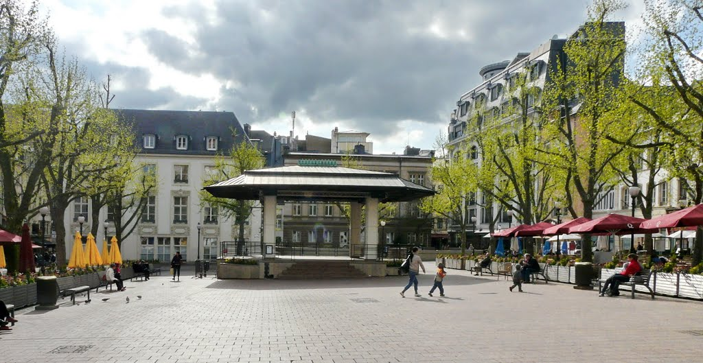 Place d'Armes Luxembourg City, Panoramio - Photo of Place D' Armes, Luxembourg City.