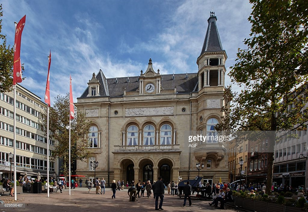 Place d'Armes Luxembourg City, The Square Place D'armes In Luxembourg City. the Cercle Municipal ...