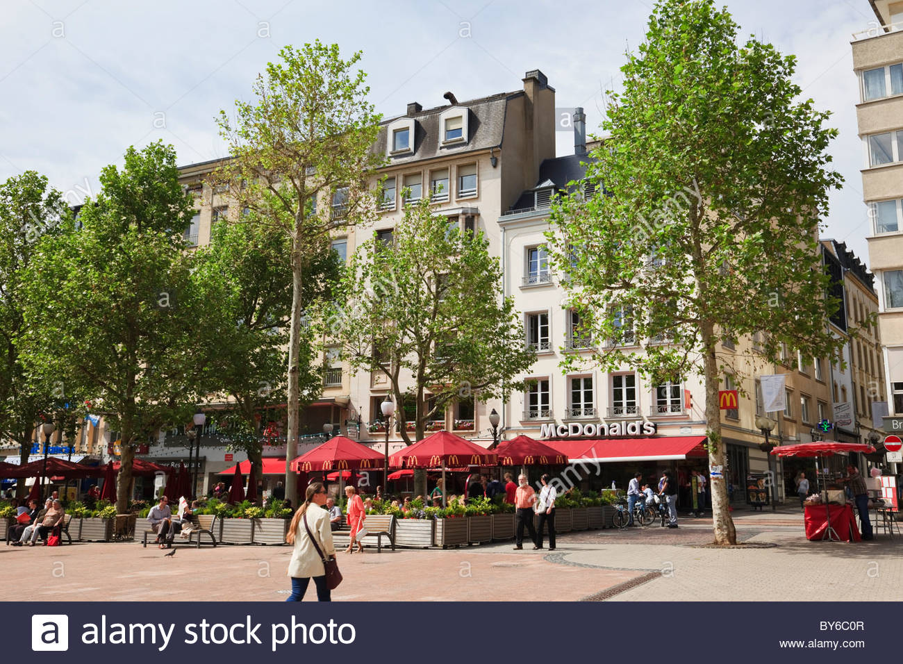 Place d'Armes Luxembourg City, Place d'Armes, Luxembourg, Grand Duchy Luxembourg, Europe. Outdoor ...