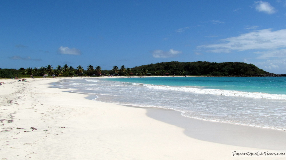 Playa Media Luna Vieques and Culebra, My Favorite Beaches on Vieques | Puerto Rico Day Trips Travel Guide