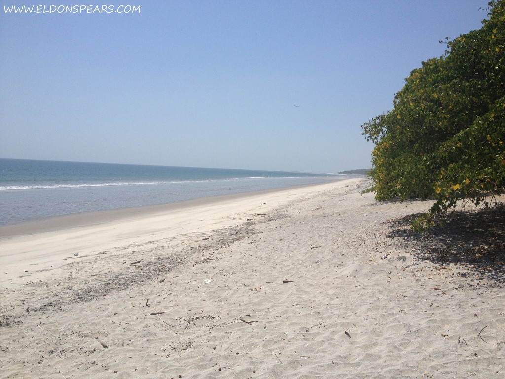 Playa Cacique The Canal and Central Panama, Playa del Sol. (Beach of the Sun). Undescovered, quiet, and ...