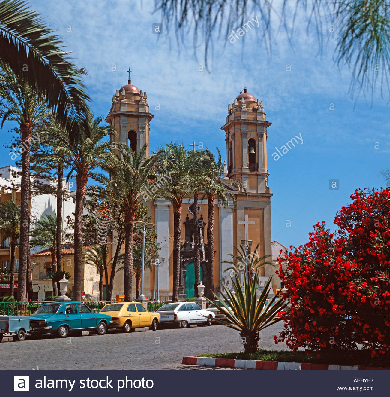 Plaza de Africa Ceuta, Ceuta in Morocco North Africa belongs to Spain The church Nuestra ...