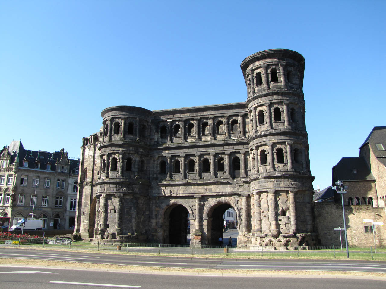 Porta Nigra Trier, Roman monuments, the Cathedral and Church of Our Lady in Trier ...
