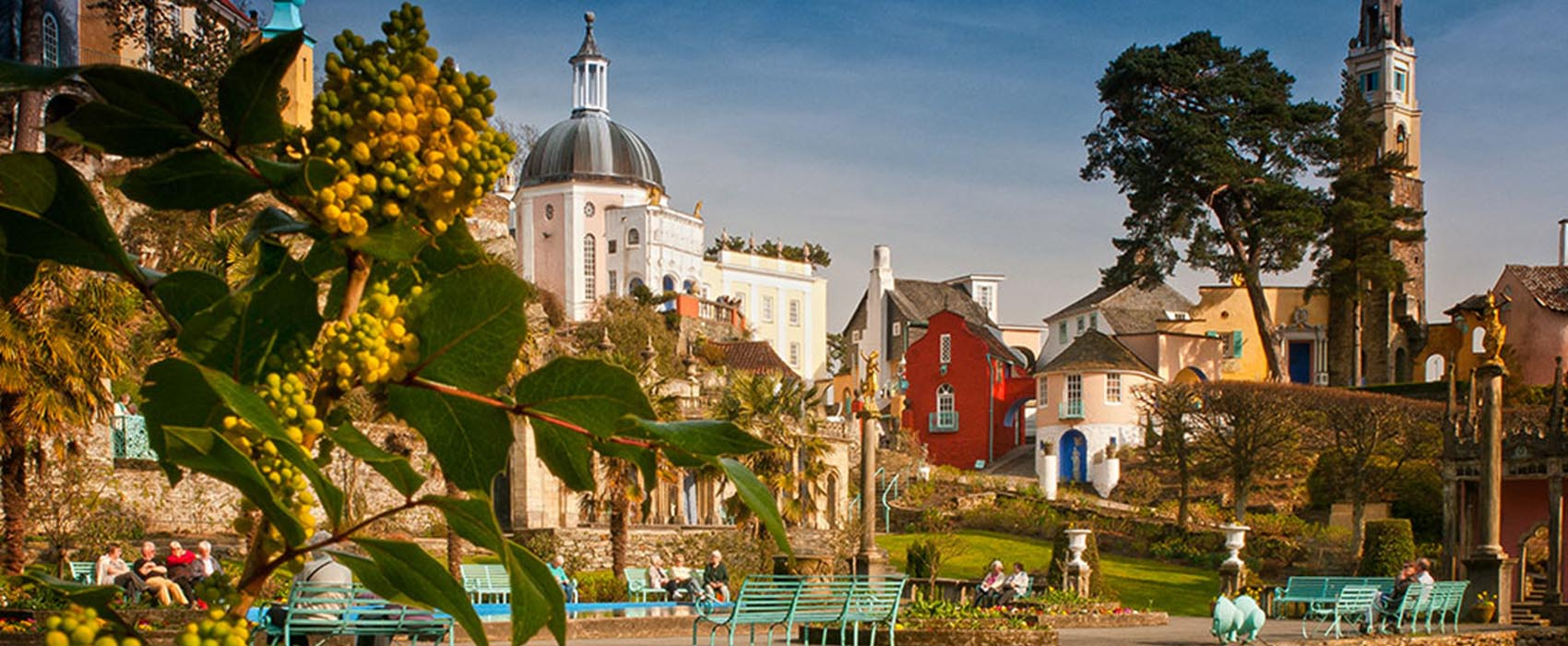 Portmeirion North Wales, Things to do in North Wales when staying at Abercelyn, Bala, Snowdonia