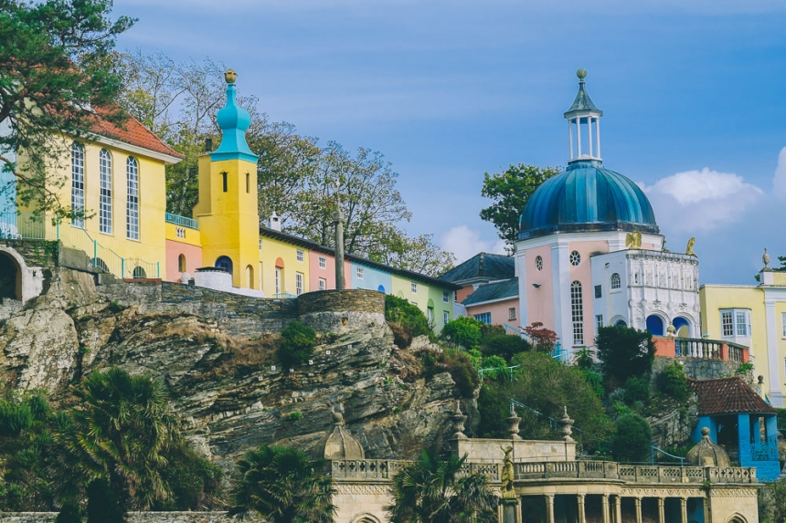 Portmeirion North Wales, Portmeirion – A Perfect Location For Wedding Photography ...