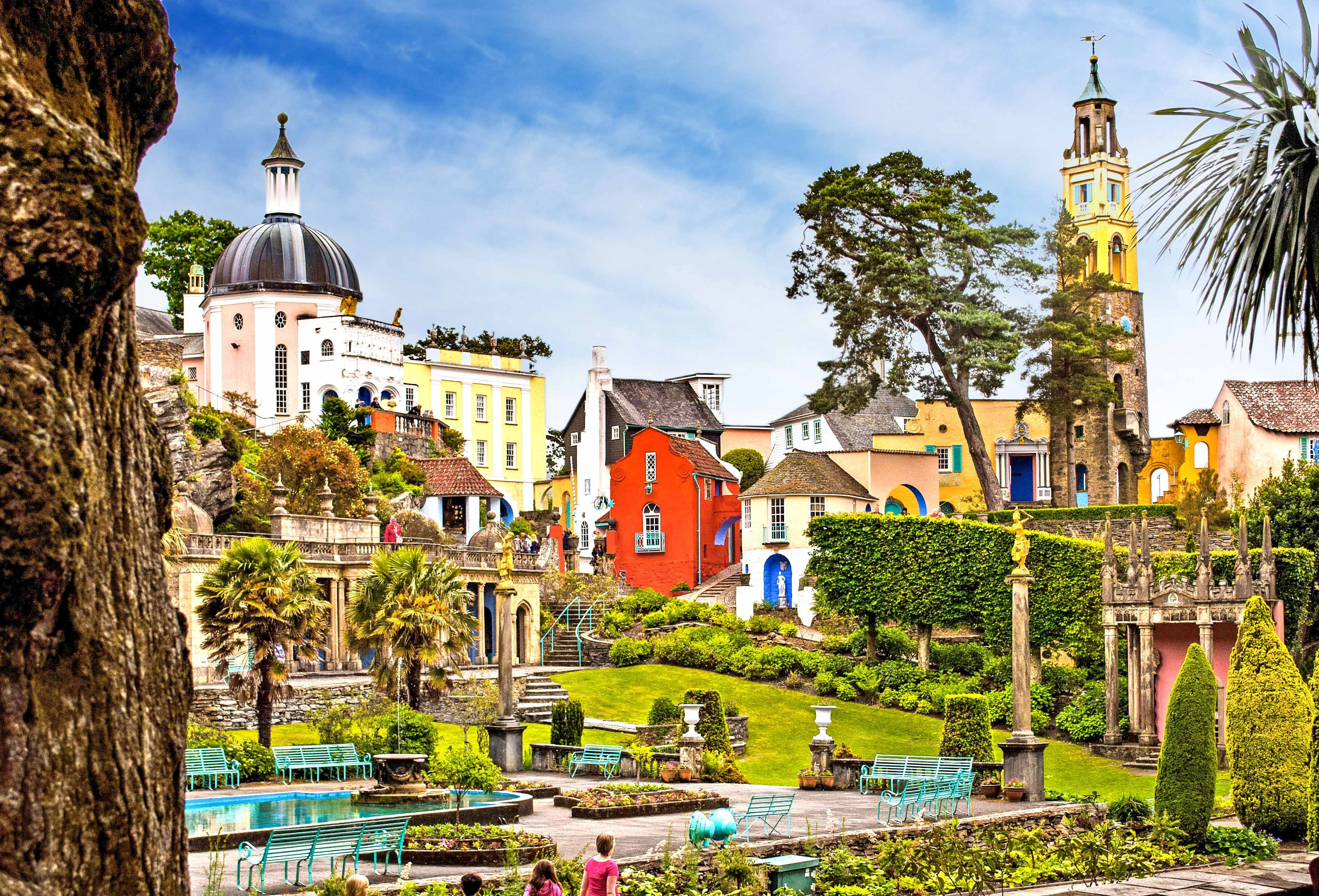 Portmeirion North Wales, Portmeirion - North Wales - YouTube