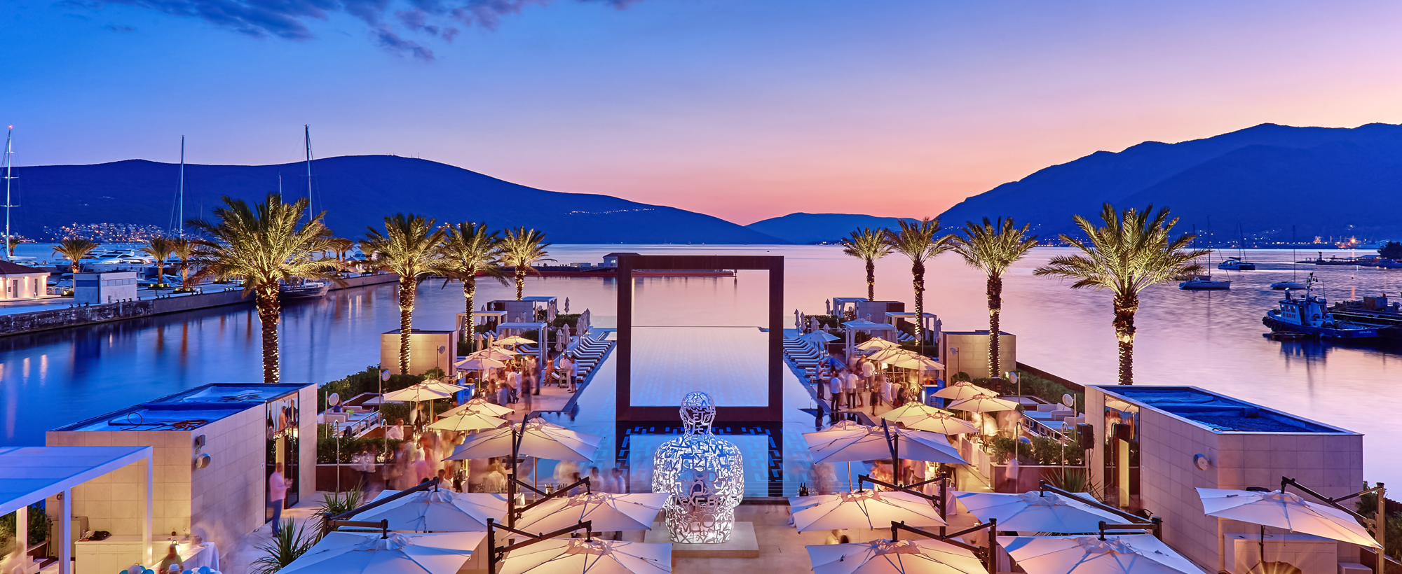 Porto Montenegro Tivat, Helicopter rent | SYMPHONY Ltd - The best Travel Management Company