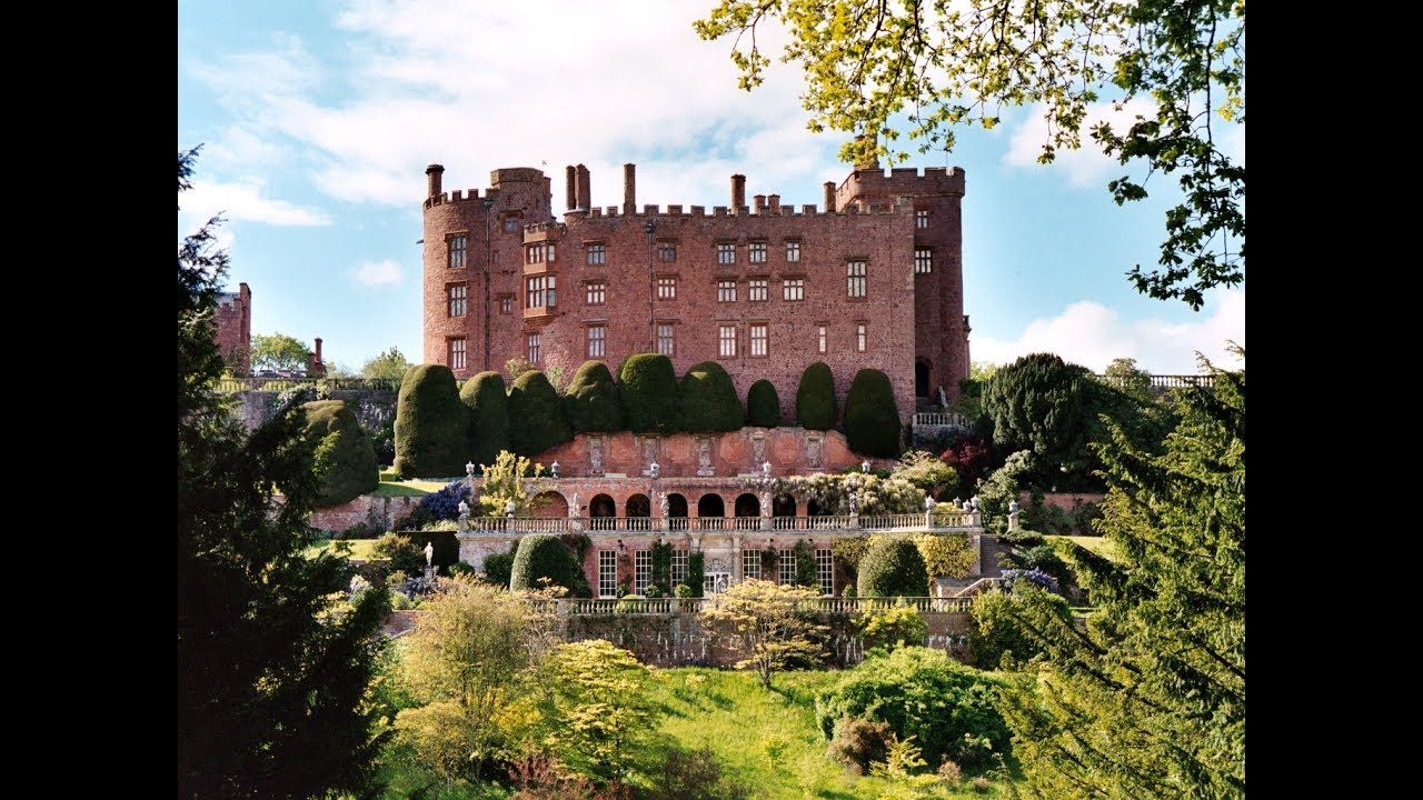 Powis Castle Welshpool (Y Trallwng), Places to see in ( Welshpool - UK ) - YouTube