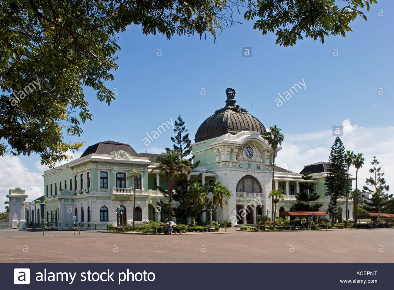 Train Station Maputo, Train Station, Maputo, Mozambique, Southern Africa Stock Photo ...