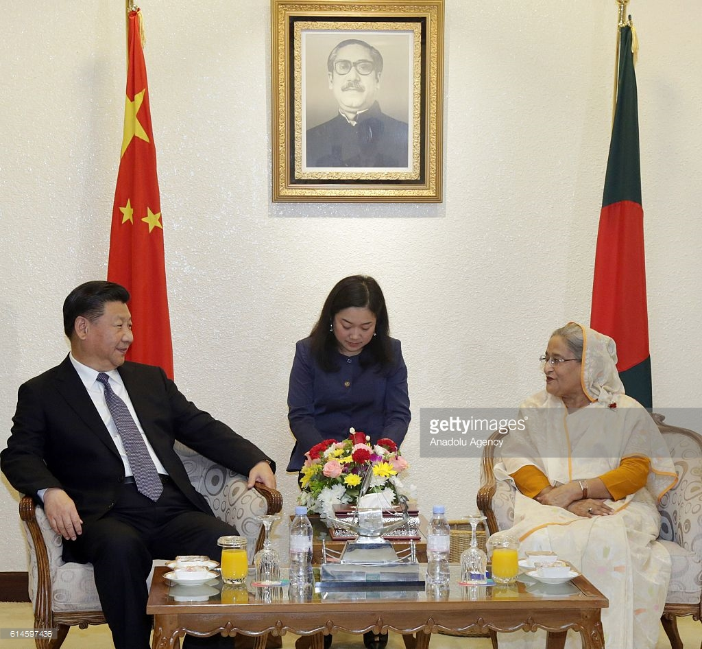 Prime Minister's Office Dhaka, Chinese President Xi Jinping in Bangladesh Pictures | Getty Images