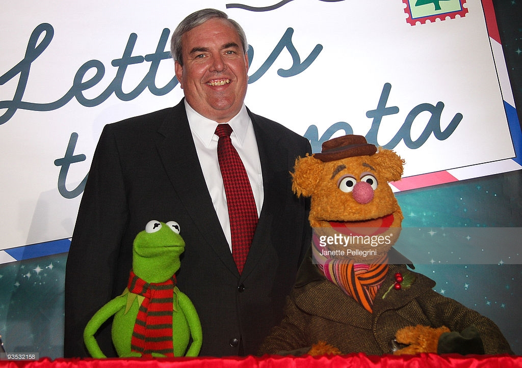Pulaski Day Parade in Brooklyn New York City, U.S. Postal Service And The Muppets