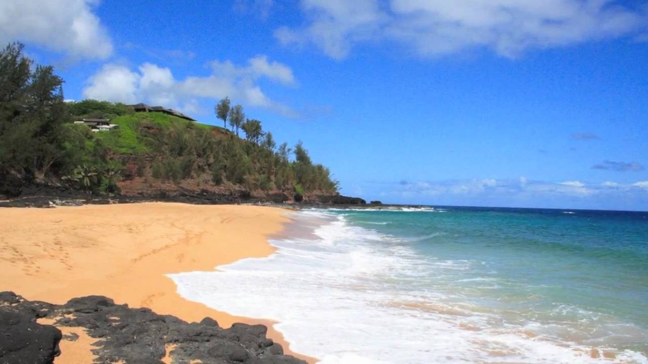 Puu Poa Beach Kauai, Secret Beach - Kauapea Beach Kauai Hawaii - YouTube