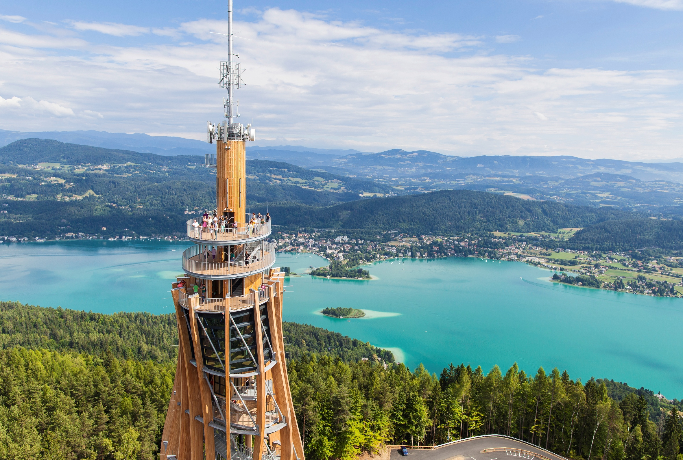 Pyramidenkogel Carinthia and Graz, There Is Always Rain After Sunshine - KONGRES – Europe Events and ...