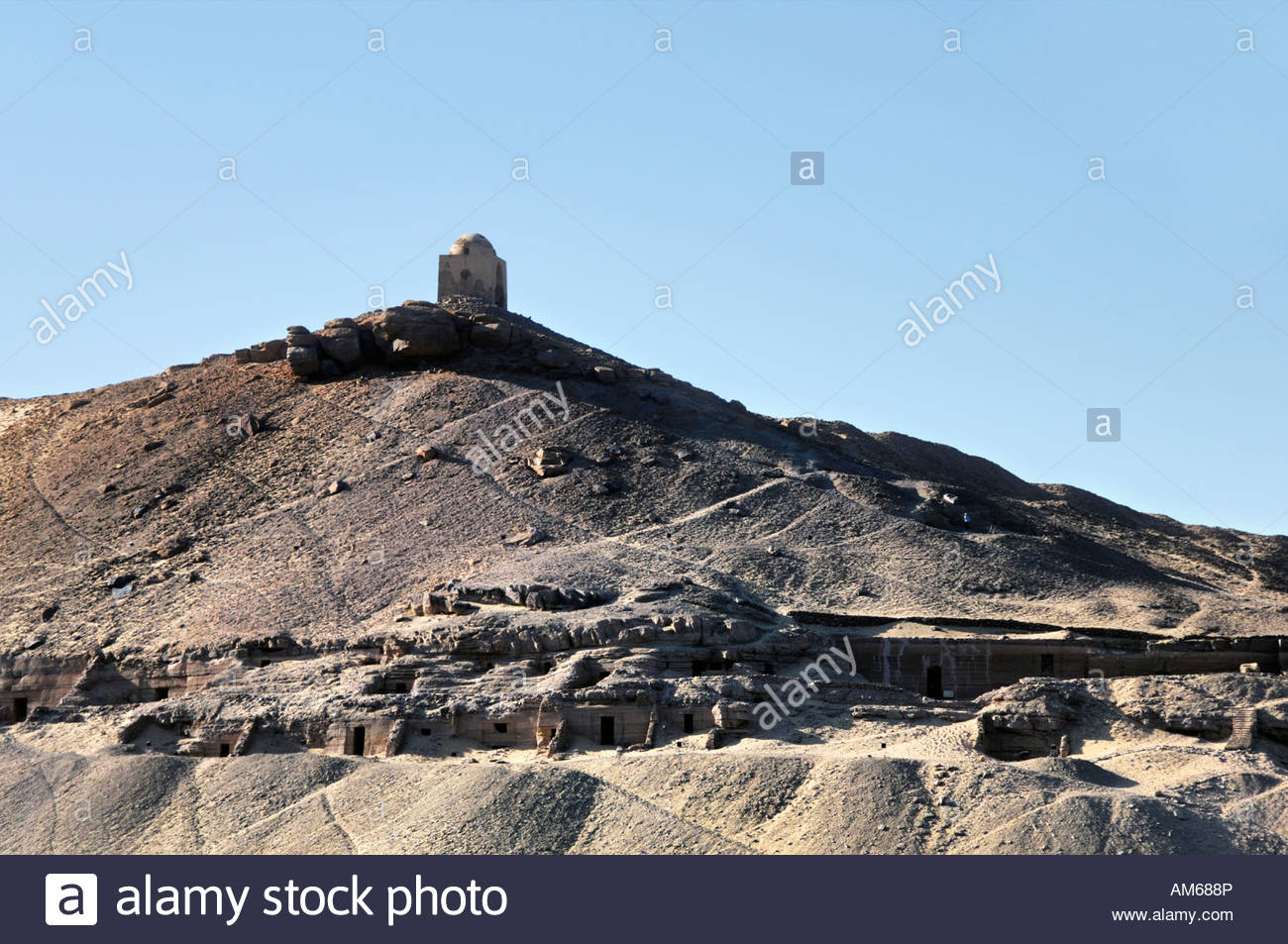 Qubbet Al Hawa Aswan, Tombs of Nobles and Qubbet el Hawa or Dome of the Winds Aswan ...