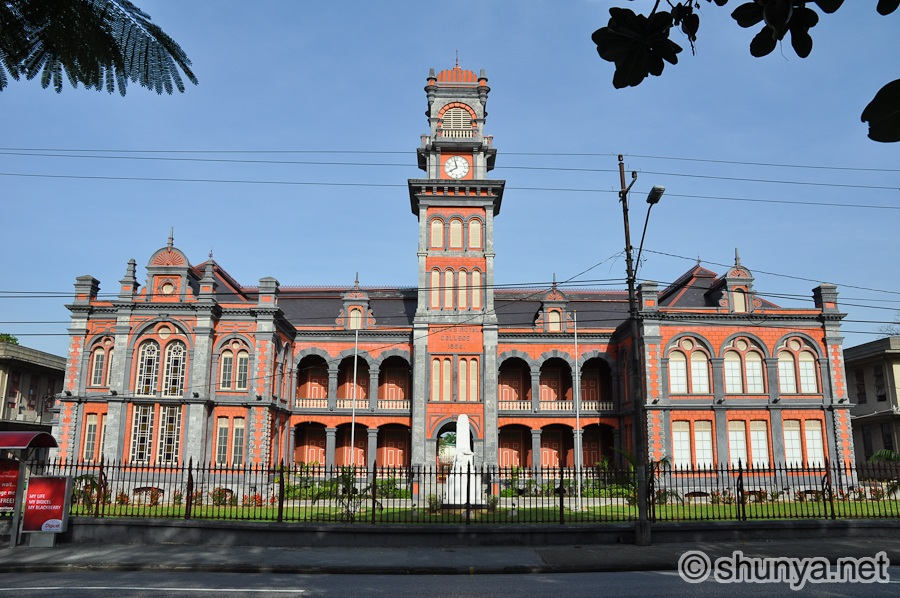 Queen's Royal College Port of Spain, Port of Spain, Trinidad | Shunya